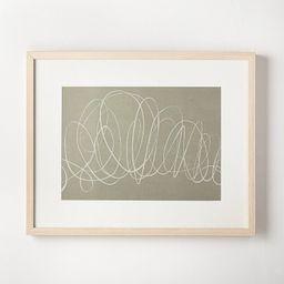 "30"" x 24"" Scribble Art Print - Threshold™ designed with Studio McGee   Target"
