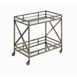 Escobar Metal Framed 2 Tier Bar Cart | Wayfair North America