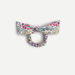 Bow scrunchie in Liberty® floral print   J.Crew US