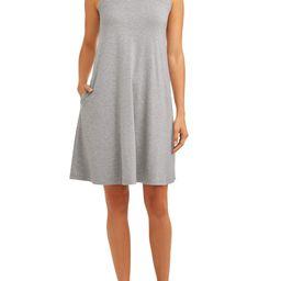 Time and Tru Women's Sleeveless Knit Dress   Walmart (US)