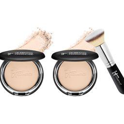 IT Cosmetics Super-Size Celebration Foundation w/ Brush — QVC.com   QVC