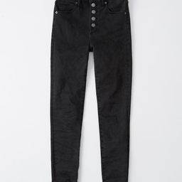Womens High Rise Super Skinny Ankle Jeans   Womens Bottoms   Abercrombie.com   Abercrombie & Fitch US & UK