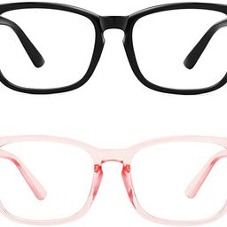 MEETSUN Blue Light Blocking Glasses, Anti Eye Strain Headache (Sleep Better),Computer Reading Gla... | Amazon (US)