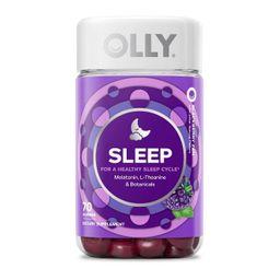Olly Sleep Gummies - Blackberry Zen - 70ct   Target