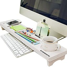 CYBERNOVA Desk Organiser Office Small Objects Storage Keyboard Commodity Shelf   Amazon (US)