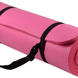 Everyday Essentials All-Purpose 1/2-Inch High Density Foam Exercise Yoga Mat Anti-Tear with Carry...   Walmart (US)