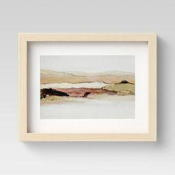 Watercolor Landscape Framed - Project 62™ | Target