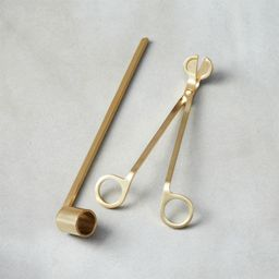 2-Piece Wick Trimmer and Candle Snuffer Set + Reviews | CB2 | CB2