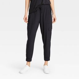 Women's Stretch Woven Cargo Joggers - All in Motion™ | Target