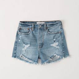 High Rise Mom Shorts | Abercrombie & Fitch US & UK