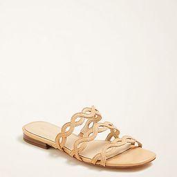 Minny Wavy Leather Sandals | Ann Taylor | Ann Taylor (US)