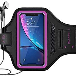 LOVPHONE iPhone 11 Pro/iPhone X/iPhone Xs/Galaxy S10e Armband, Sport Running Exercise Gym Case wi... | Amazon (US)
