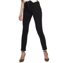 Women's Nine West Bedford High-Waisted Skinny Jeans | Kohl's