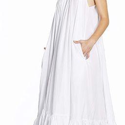 Tov Elegance A-Line Spaghetti Strap Flowy Maxi Rideau Dress | Amazon (US)