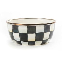 Courtly Check Enamel Pinch Bowl | MacKenzie-Childs