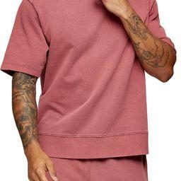 Short Sleeve French Terry Sweatshirt | Nordstrom