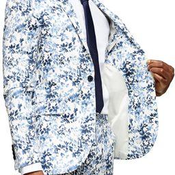 Floral Skinny Fit Suit Blazer | Nordstrom