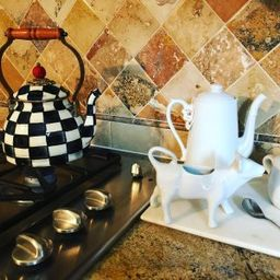 MacKenzie-Childs Courtly Check Tea Kettle | Williams-Sonoma
