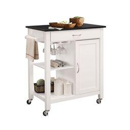 Lanier Kitchen Cart with MDF Top | Wayfair North America