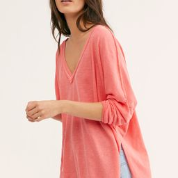 We The Free On My Mind V-Neck Top | Free People (US)