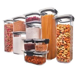 Rubbermaid Brilliance Pantry Food Storage Containers, 20 Piece Set   Walmart (US)