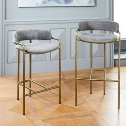 Lenox Bar and Counter Stool | West Elm (US)