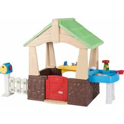 Little Tikes Deluxe Home and Garden Playhouse | Walmart (US)
