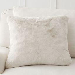 Faux Fur Alpaca Pillow Covers | Pottery Barn (US)