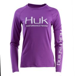 Huk Women's Pursuit Vented Long Sleeve T-shirt | Academy Sports + Outdoor Affiliate