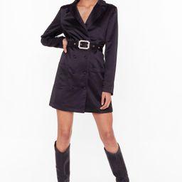 Gossip Pearl Satin Blazer Dress | NastyGal (US & CA)