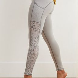 Aerie Move Lasercut High Waisted 7/8 Legging | American Eagle Outfitters (US & CA)