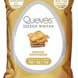 Quevos Keto Quevos Rancheros - Low Carb Egg White Chips - High Protein, Ketogenic, High Fiber, Cr...   Amazon (US)