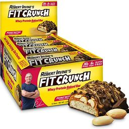 FITCRUNCH Protein Bars   Designed by Robert Irvine   World's Only 6-Layer Baked Bar   Just 6g o...   Amazon (US)