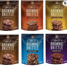 Sheila G's Brownie Brittle, Variety Pack, 5 Ounce Bag (Pack of 6) (Packaging May Vary)   Amazon (US)