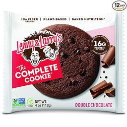 Lenny & Larry's The Complete Cookie, Double Chocolate Chip, 4 Ounce Cookies - 12 Count, Soft Bake...   Amazon (US)