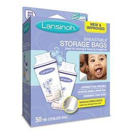 2 Pack - Lansinoh Breastmilk Storage Bags 50 Each | Walmart (US)