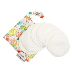 Kindred Bravely Organic Washable Breast Pads 8 Pack Reusable Nursing Pads for Breastfeeding with Car | Walmart (US)