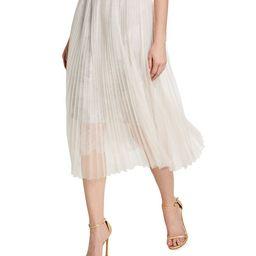 Loyd/Ford Mesh Lace Midi Skirt | Neiman Marcus