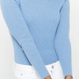 Ribbed Turtleneck Cashmere Sweater | State Cashmere