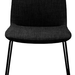 Moe's Home Collection Ruth Dining Chair Black-Set of Two Black/Mid-Century Modern | Amazon (US)
