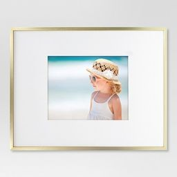 Thin Metal Matted Gallery Frame Brass - Project 62™ | Target