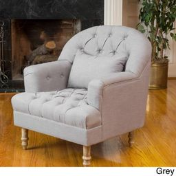 Christopher Knight Home Anastasia Tufted Chair by   Walmart (US)