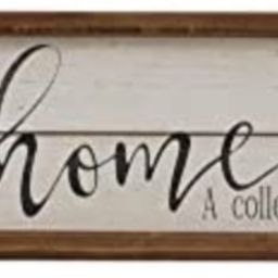 Parisloft A Story of Who We are Home Wood Framed Wall Decor Sign,Farmhouse Plaque,23.6 x 1.2 x 6 ... | Amazon (US)