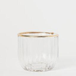 Textured Tea Light Holder | H&M (US)