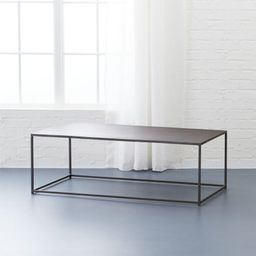 Mill Coffee TableCB2 Exclusive    In stock and ready to ship.ZIP Code 35201Change Zip Code: Submi...   CB2