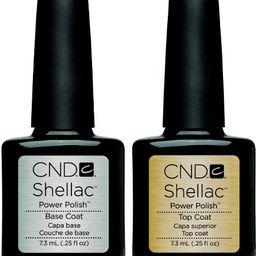 CND Shellac - Base & Top Coat (0.25 oz)   Walmart (US)