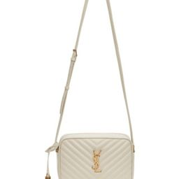 White Lou Camera Bag | SSENSE