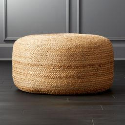 Braided Jute Large PoufCB2 Exclusive    In stock and ready to ship.ZIP Code 97201Change Zip Code:...   CB2