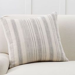 Hawthorn Stripe Sherpa Back Pillow Cover   Pottery Barn (US)