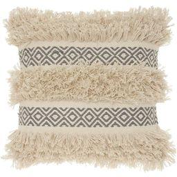 Mina Victory Life Styles Diamond Stripe Texture Throw Pillow   Target